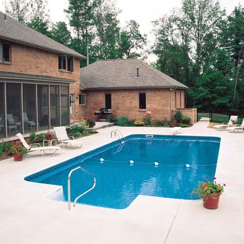 In-Ground Swimming Pool Portfolio : Sprague\'s Mermaid Pools & Spas
