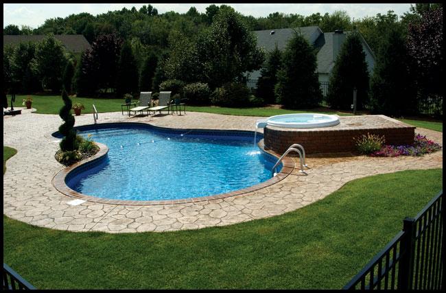 Inground Swimming Pools In Glens Falls Queensbury Lake